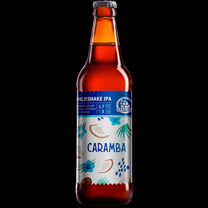 Caramba Milkshake IPA Brewlok (бутылка) фото  описание