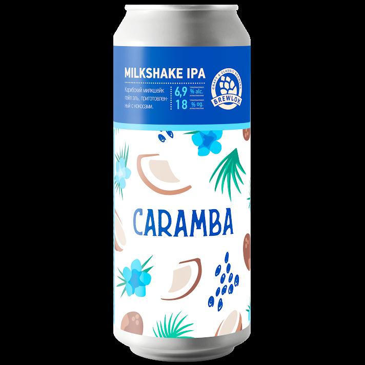 Caramba Milkshake IPA Brewlok (банка) фото  описание