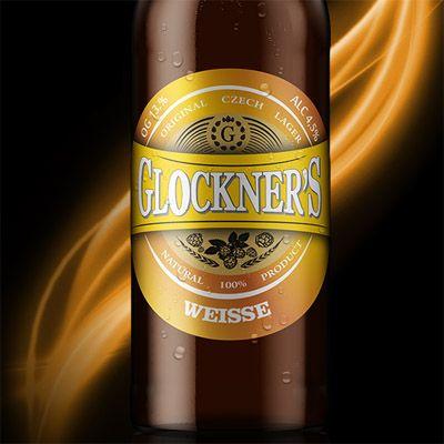 Светлое пиво Glockners Weisse пшеничное в Воронеже логотип