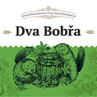 Светлое пиво Dva Bobra Lezak в Воронеже логотип