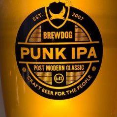 Светлое пиво Brew Dog IPA в Воронеже логотип