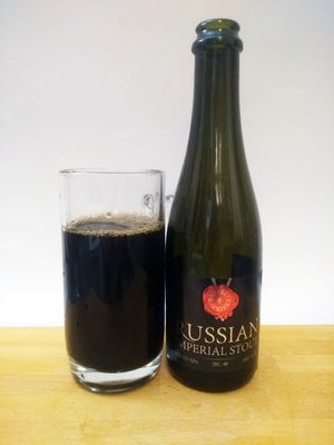 Russian Imperial Stout (barrel #Whisky)