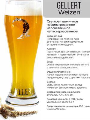 Gellert Weizen пшеничное пиво фото 2 описание
